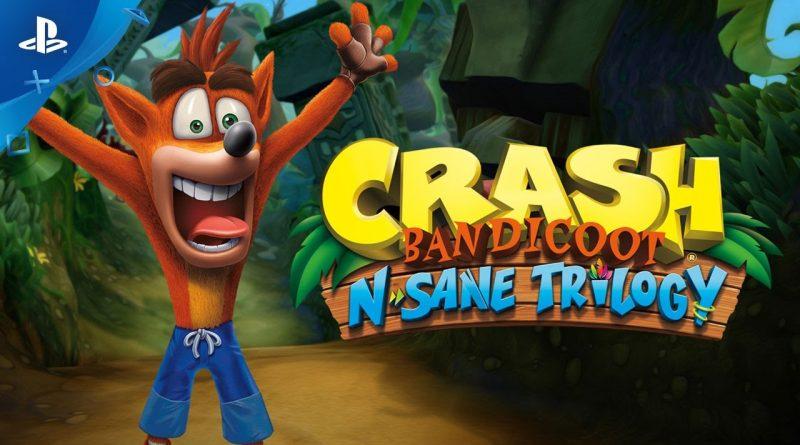 Crash Bandicoot N' Sane Trilogy PS4 – GamePlay