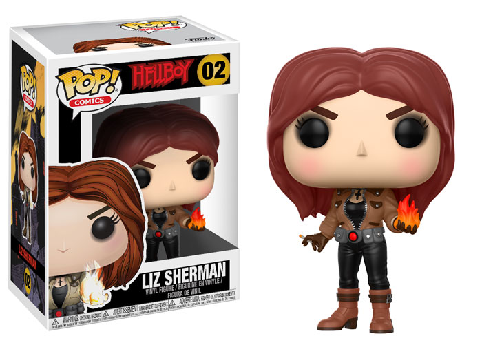 POP! Hellboy - Liz Sherman