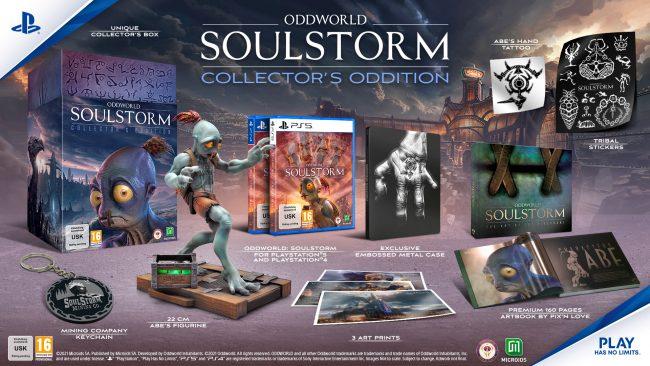 Oddworld Soulstorm Collectors Edition
