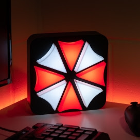 Resident Evil 25th Anniversary Umbrella lamp