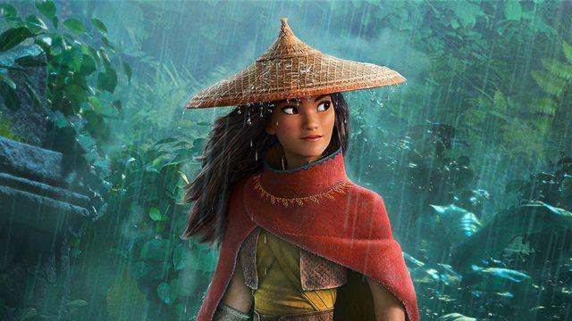 Raya from Raya the Last Dragon up close