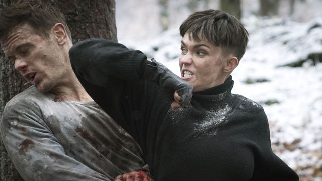 Ruby Rose elbows Sam Heughan in the face in SAS: Red Notice