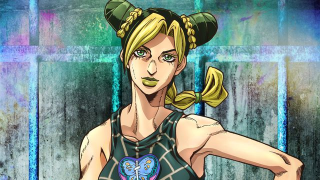 Jolyne Cujoh from JoJo's Bizarre Adventure part 6: Stone Ocean