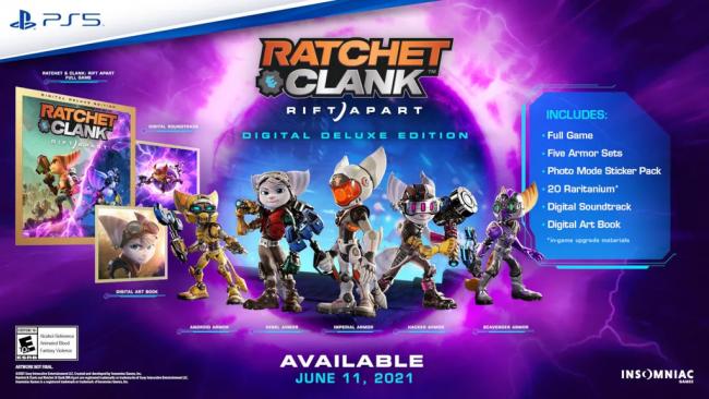 Ratchet Clank Rift Apart Rivet