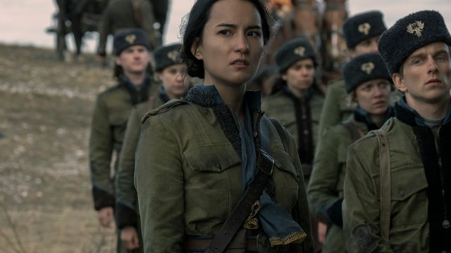 alina in her military uniform