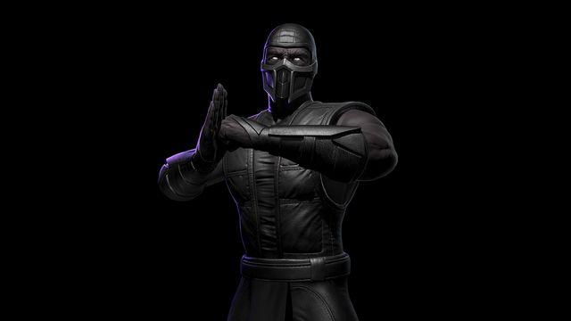 Noob Saibot from Mortal Kombat X