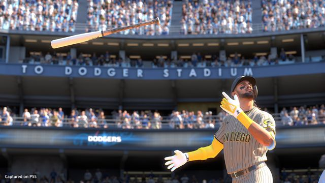 Another prodigious bat flip from MLB The Show 21 cover star Fernando Tatis Jr.