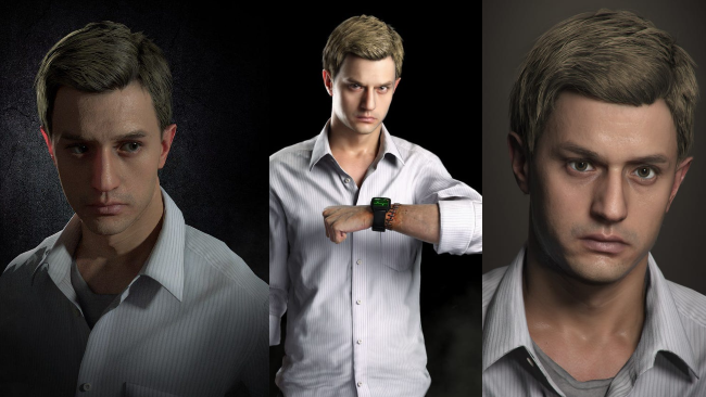 Ethan winters face evan winters forgettable Resident Evil character