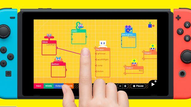Artwork of Game Builder Garage for Nintendo Switch