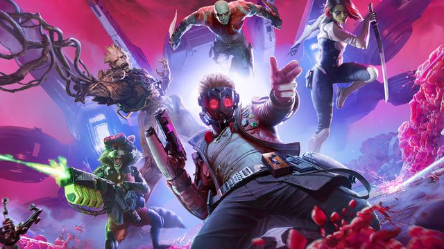 Artwork of the Guardians of the Galaxy game by Square Enix
