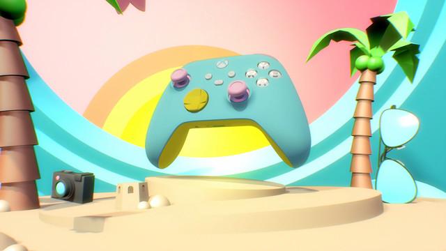 Xbox Design Lab controller option