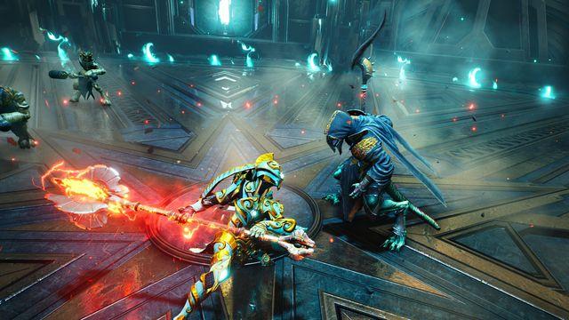 A screenshot of Godfall