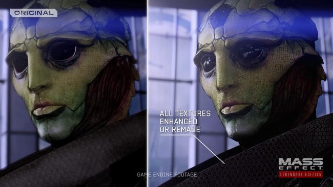 mass effect legendary edition remastered comparison original trilogy