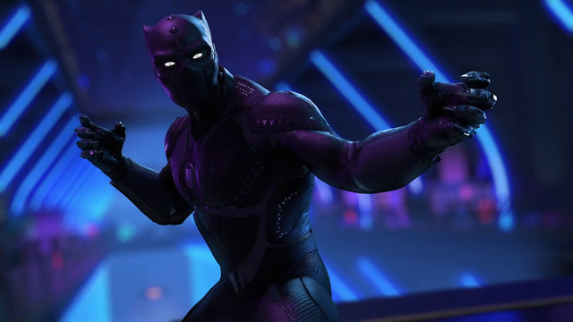 Black Panther prepares for battle in Marvel's Avengers: Black Panther - War for Wakanda