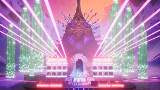 A screenshot of The Artful Escape