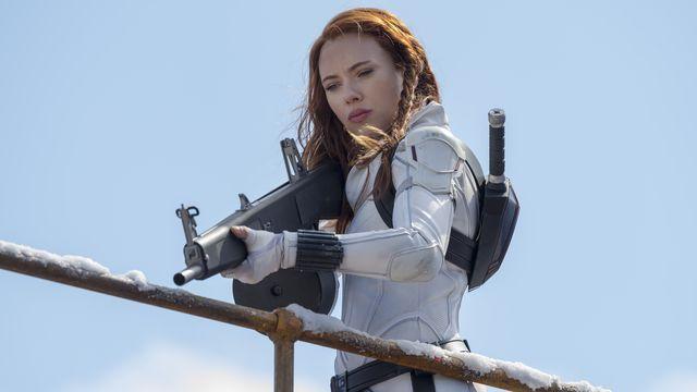 Black Widow/Natasha Romanoff (Scarlett Johansson) in Marvel Studios' BLACK WIDOW.