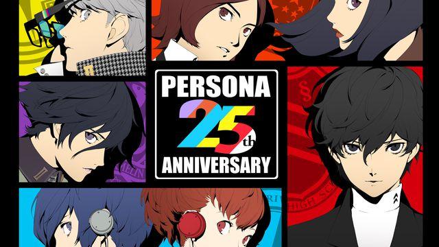Persona 25th anniversary project artwork