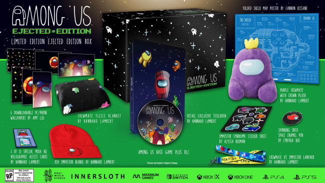 Among Us collectors editions