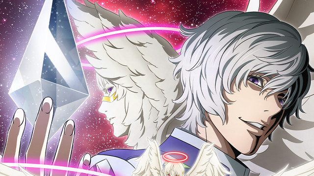 Promotional art for the anime series Platinum End