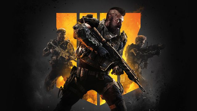 Artwork of three soldiers from Call of Duty: Black Ops 4