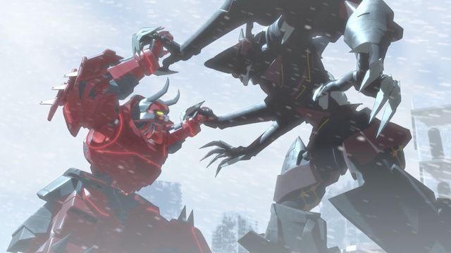 Giant robots fight in gen:lock season 2 trailer