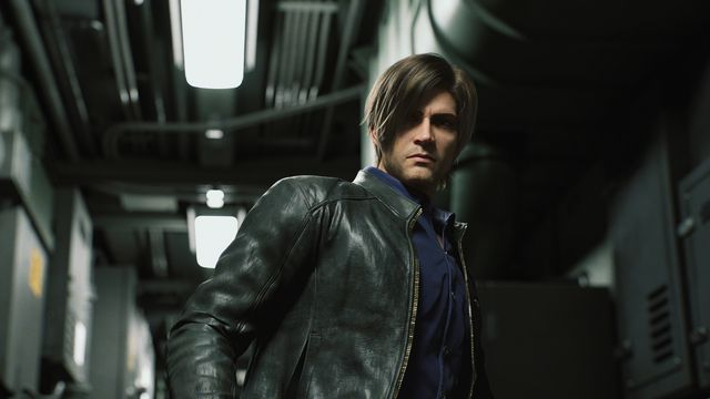 Leon S. Kennedy glowers in a submarine in Netflix's animated miniseries Resident Evil: Infinite Darkness