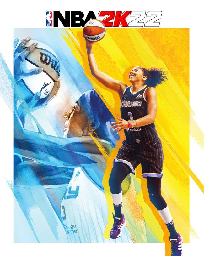 nba 2k22 female cover