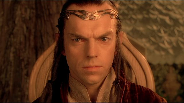 Elrond in The Fellowship of the Ring.