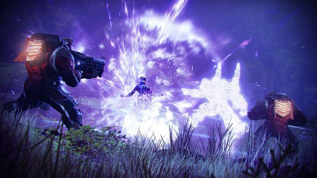 Destiny 2 Void Warlock explodes