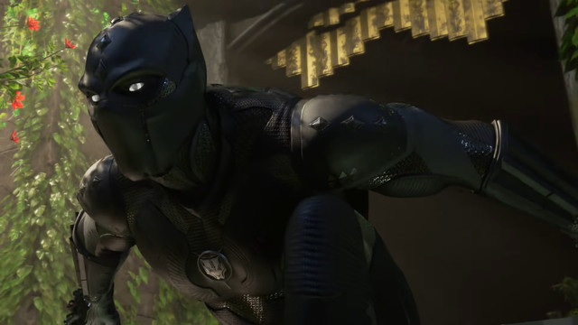 Black Panther in Marvel's Avengers: War for Wakanda