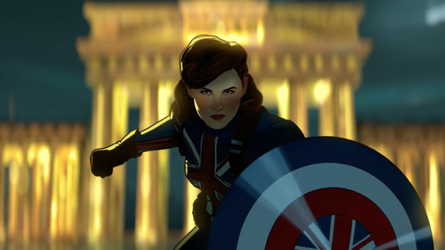peggy carter as a super soldier