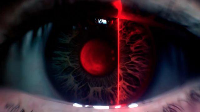 Blade Runner: Black Lotus eye scan