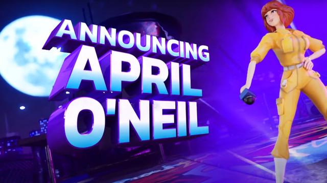 April O'Neil in Nickelodeon All-Star Brawl