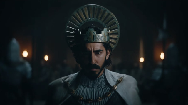 Dev Patel as Gawain in The Green Knight.