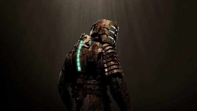 Artwork of Isaac Clarke from Dead Space