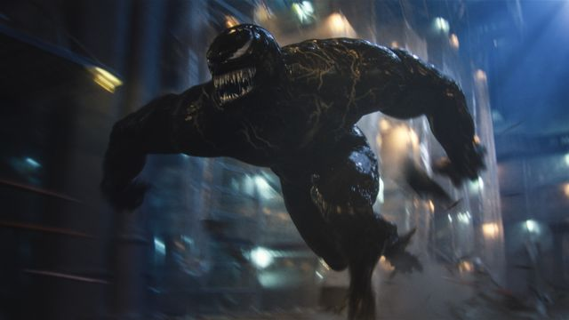 Venom races across screen in Let There Be Carnage